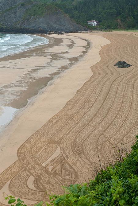 Beach Art Drawing Machine