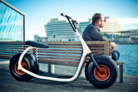 Modern Electric Scooter