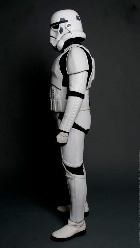 Star Wars Stormtrooper Motorcycle Suit