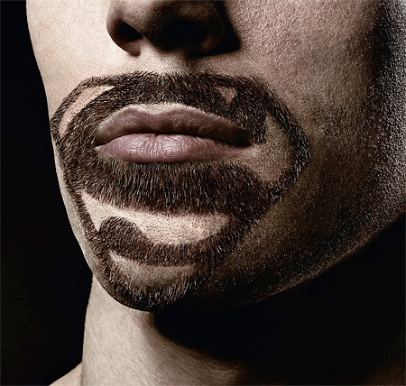 Superman Beard