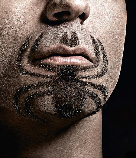 Spider-Man Beard