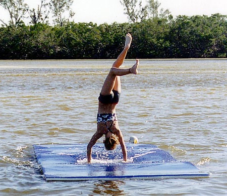 Yoga on Water