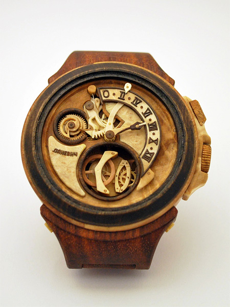 Watches Made out of Wood