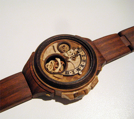 Wooden Watches by Danevych Watch