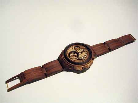 Wooden Watch by Danevych Watch