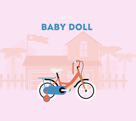 Baby Doll Bicycle