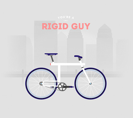 Rigid Guy Bicycle