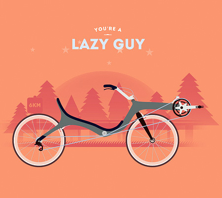 Lazy Guy Bicycle