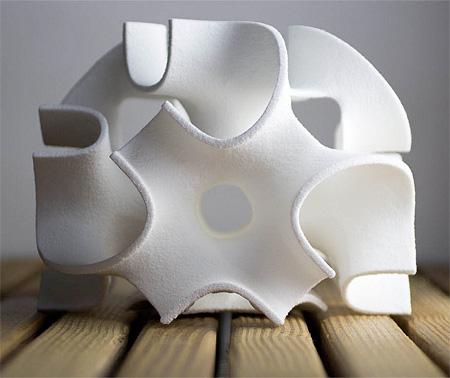 3D Printed Sugar Cube