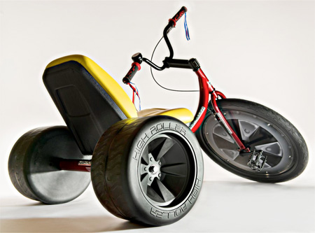 High Roller Adult Size Big Wheel Trike