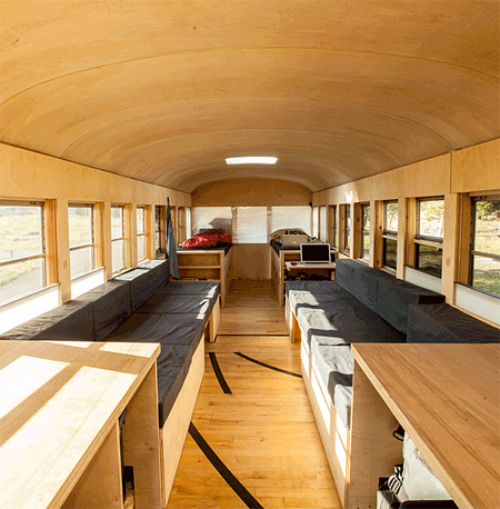School Bus Mobile House