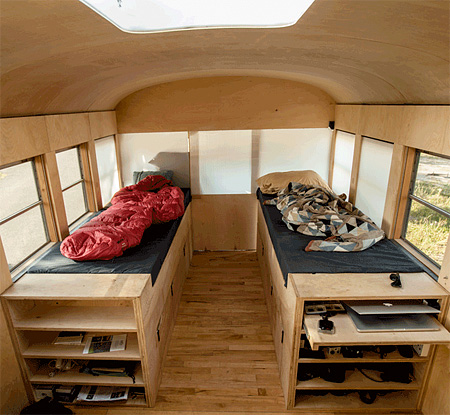 School Bus Apartment