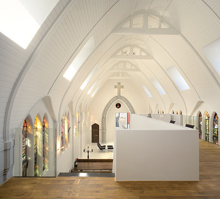 Church Turned Into a Home