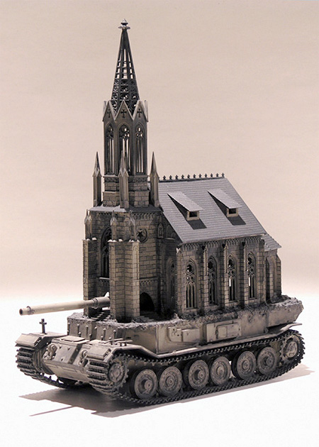 Church Tanks by Kris Kuksi