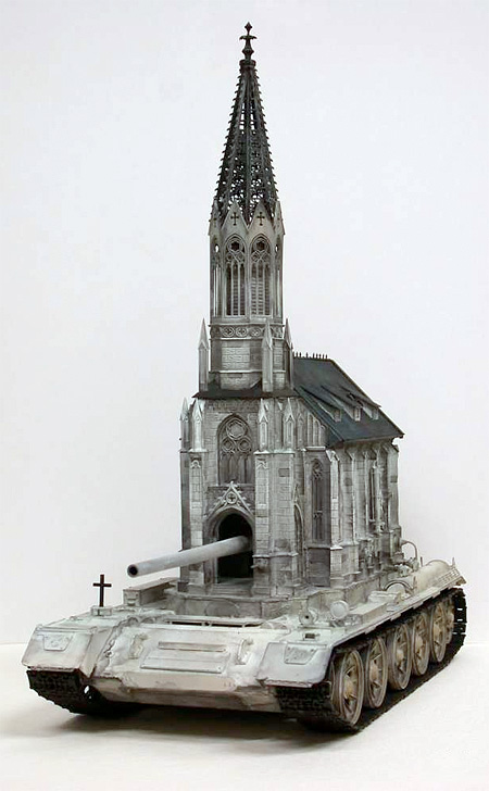 Church Tank Sculptures