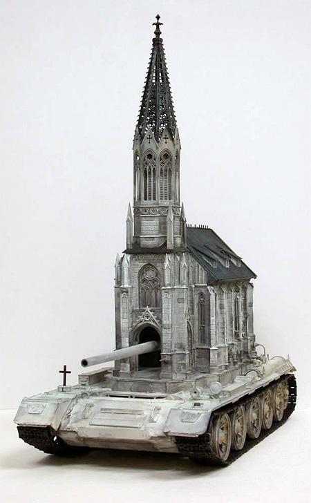 Church Tank Sculptures