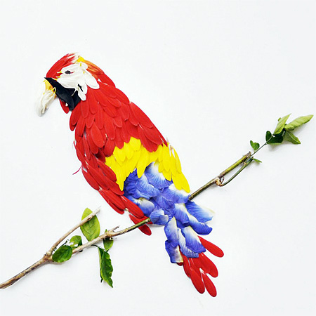 Flower Birds by Red Hong Yi