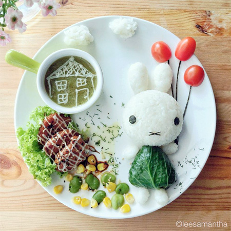 Miffy Food Art