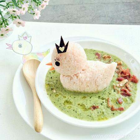Duckling Food Art