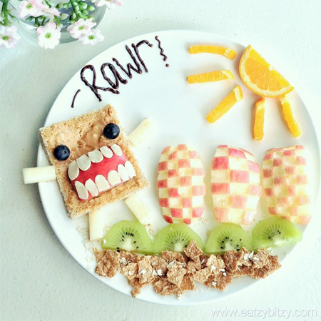 Domokun Food Art