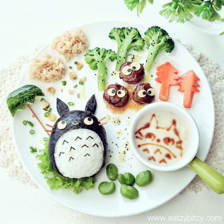 My Neighbour Totoro Food Art
