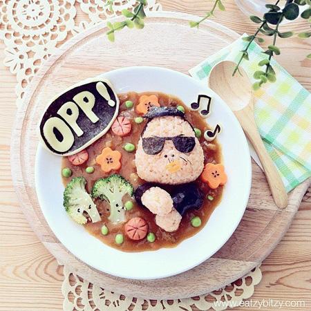 Gangnam Style Food Art