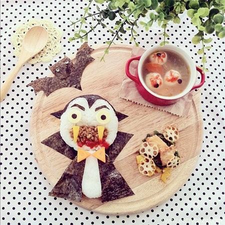 Dracula Food Art