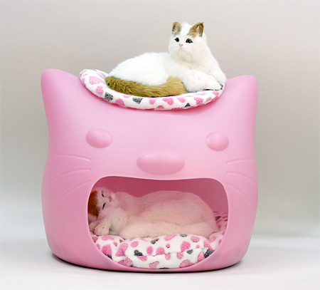 Cat Shaped Cat Bed