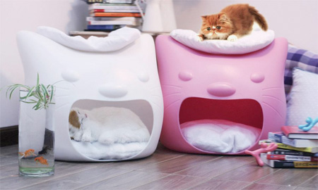 Kitty Meow Cat Beds