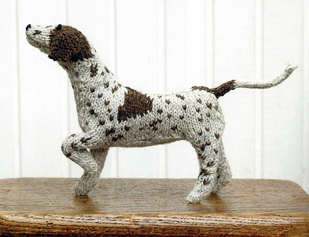 Knitted Dog Pattern