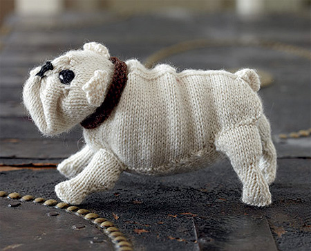 Knitted Dogs Book