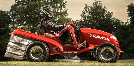 Worlds Fastest Lawn Mower