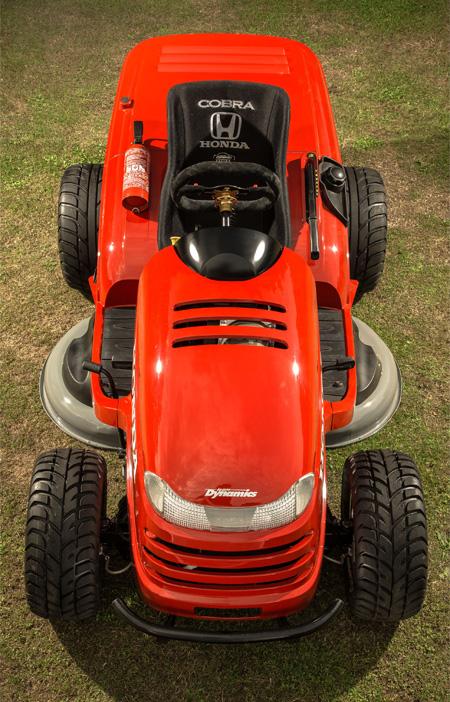 Worlds Fastest Lawnmower