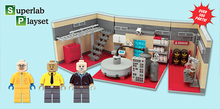 LEGO Breaking Bad