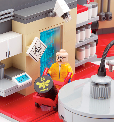 LEGO Breaking Bad Superlab