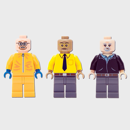 Breaking Bad LEGO Minifigs