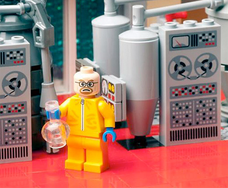 LEGO Breaking Bad by Citizen Brick
