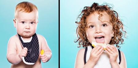 Babies Tasting Lemons