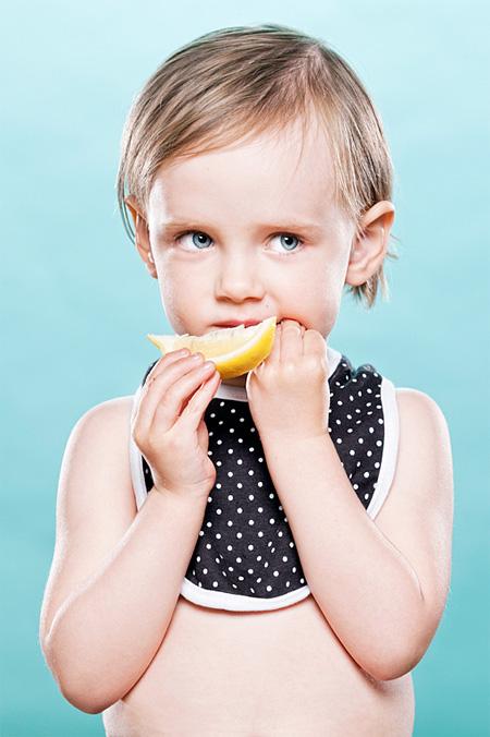 Babies Taste Lemon