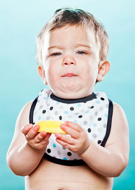 Babies Taste Lemons