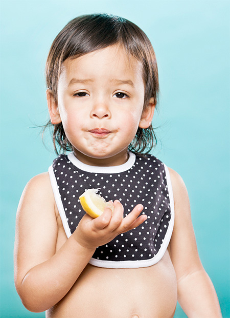 Babies Eat Lemon