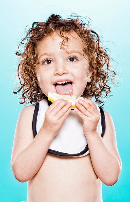 Babies Taste Lemons For The First Time