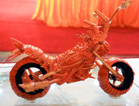 Motorcycle Lobster
