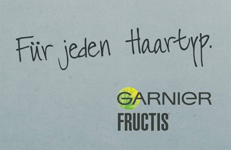 Garnier Fructis For any hair type