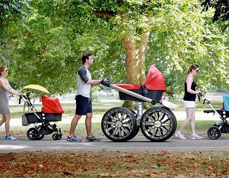 Monster Baby Stroller