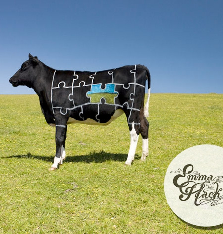 Cow Body Art