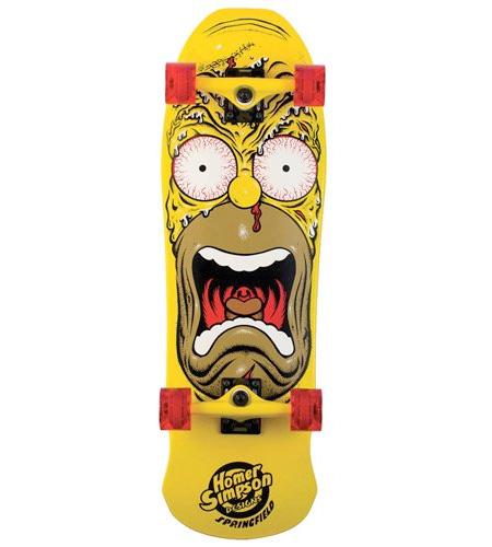 Simpsons Skateboard Deck