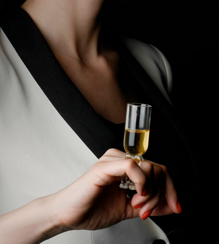 Wine Glass Ring