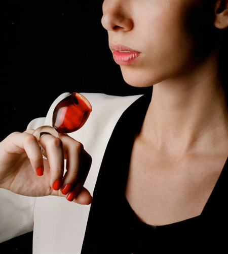 Drinking Glass Ring