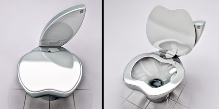 Apple Toilet